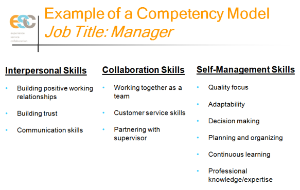 Jeff Berman Competency Model